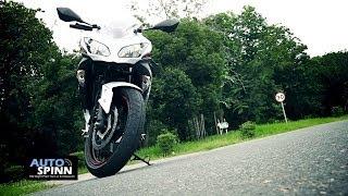 5. รีวิว 2013 Kawasaki Ninja300 ABS ขี่ทดสอบ
