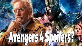 Video Michael Douglas Spoils Avengers 4 AND The Future of the MCU? MP3, 3GP, MP4, WEBM, AVI, FLV Januari 2019