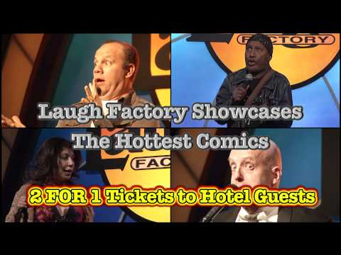 Laugh Factory Las Vegas the Week of August 6