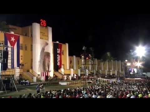 Cuba: Conmemoran Aniversario 62 de la gesta del Moncada