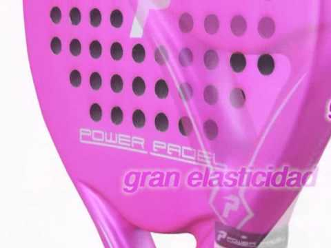 Pala Padel Decathlon Pala Power Padel Pink