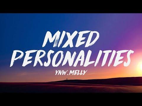 YNW Melly ft. Kanye West - Mixed Personalities (Lyrics) ♪