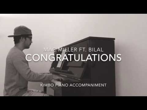 Mac Miller Ft. Bilal - Congratulations (Piano Accompaniment/Karaoke/Sing Along + Sheets)