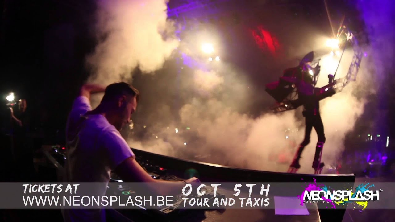video Neonsplash - Paint-party | Brussels At Tour&taxis