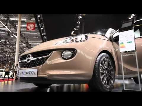 New Vauxhall Adam sneak preview – Paris Motor Show 2012