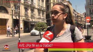 #LaVozdelaCalle: ¿Cree que el AVE llegará a Granada a finales de junio?