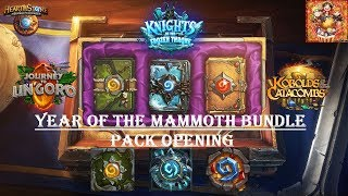 HS Year of the Mammoth Bundle - Pack Opening