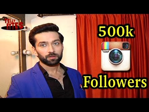 Nakuul Mehta's REACTION on crossing 500K Followers