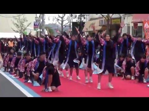 因島南中学校ええじゃんSANSA・がり踊り(尾道みなと祭2016)