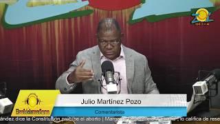 Julio Martinez comenta dictan medida de coercion a 3 de los implicados en caso Yuniol Ramirez