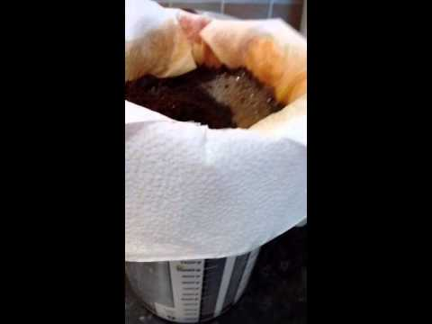 Easy to make filter coffee without maker