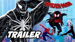 Spider-Man Into The Spider-Verse 2 Teaser Trailer and Post Credit Scene Easter Eggs