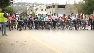 سباق للدراجات الهوائية تحت عنوان الطريق الى القدس