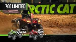 2. ARCTIC CAT ATV COMPETITION 2014 One machine makes the impossible passable.