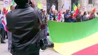 Kefale Alemu On The Protest Against The Illegal Extradition Of Andargachew የተቃዉሞ ሰልፍ