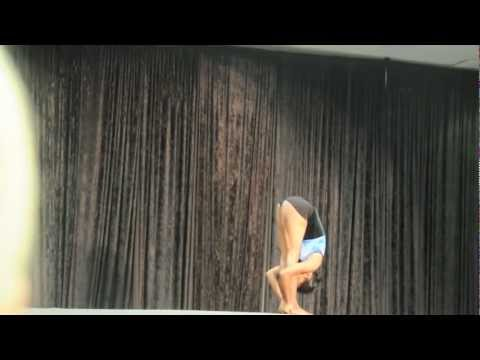 mondal - This is another video of the incredible yoga girl. Credits to Lisa Patterson.