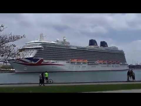 El Crucero Britannia en Las Palmas de Gran Canaria
