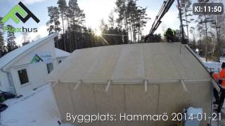 Video: Byggplats: Hammarö 2014-01-21