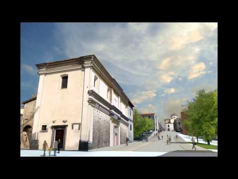 Salviamo la storia aquilana: Porta Barete in 3D