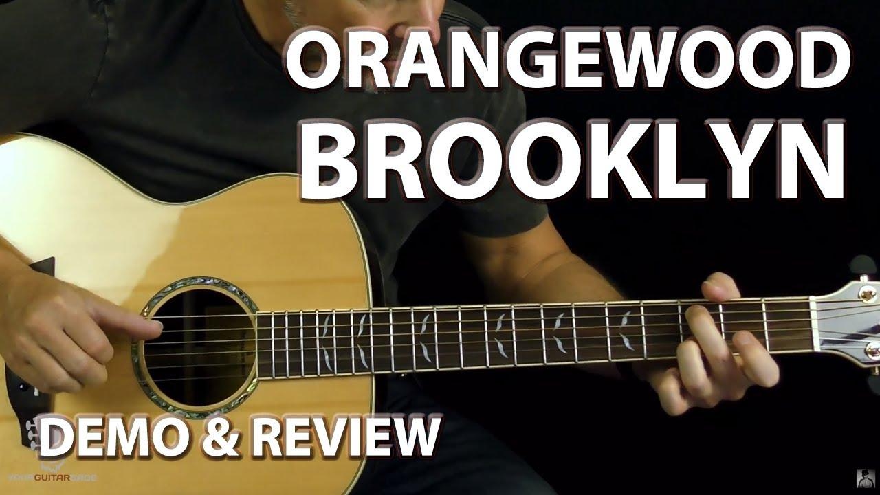 Brooklyn Acoustic Guitar Demo Review – Orangewood Guitars