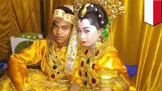 Pasangan remaja yang takut tidur sendiri akhirnya menikah! - TomoNews