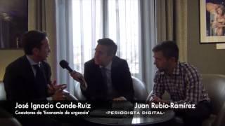"""Jose Ignacio Conde-Ruiz y Juan Rubio-Ramírez: """"Los políticos españoles ganan poco"""""""