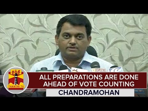 TN-Elections-2016--All-Preparations-are-done-ahead-of-Vote-Counting--Chandramohan