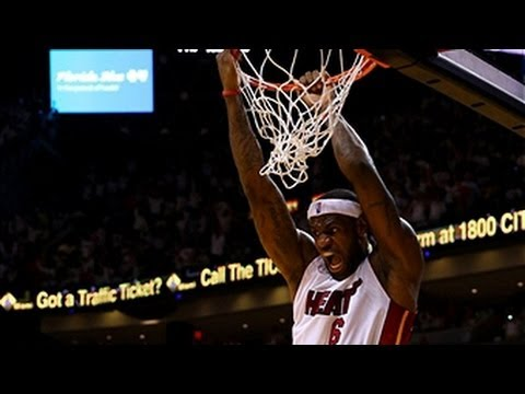 LeBron Huge Game 7 Dunks