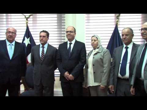 السيد بن شماش يجري بسانتياغو سلسلة مباحثات مع عدد من المسؤولين الشيليين