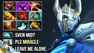 Video New Style Miracle- Pro Sven Mid vs Storm - Madness is Back! Epic Farm Speed Top MMR Game WTF Dota 2 MP3, 3GP, MP4, WEBM, AVI, FLV Juli 2018
