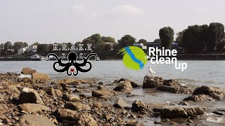Die KRAKE beim Rhine CleanUp 2020 - Aftermovie