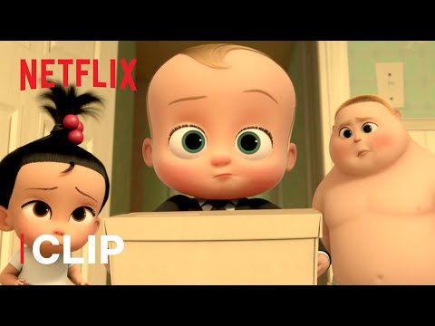 Boss Baby Gets Fired 🤬 The Boss Baby: Back in Business | Netflix Futures