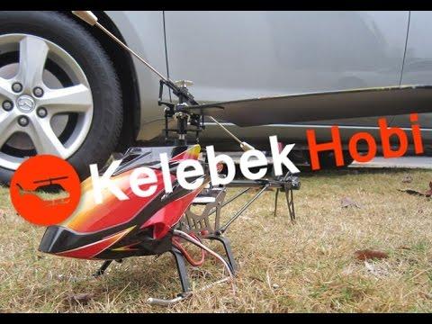RC Helikopter   Uzaktan Kumandalı   Tek Rotorlu   Büyük Model
