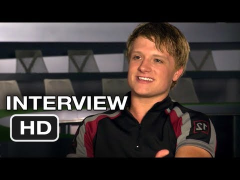 The Hunger Games - Josh Hutcherson Interview (2012) HD Movie Video