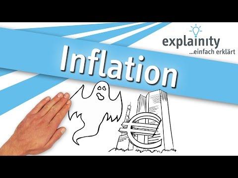 inflation - Der Begriff der Inflation geistert seit geraumer Zeit durch die Medien. Doch was hat es mit der Inflation genau auf sich und wie entsteht sie? explainity ver...