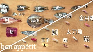 Video How to Make 12 Types of Sushi with 11 Different Fish | Handcrafted | Bon Appétit MP3, 3GP, MP4, WEBM, AVI, FLV November 2018