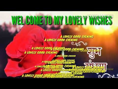 Good evening messages - Good Evening Videos WhatsApp Status .Beautiful & Lovely Wishes  For You
