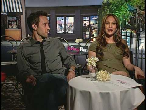 Jennifer Lopez and Alex O'Loughlin Interview for THE BACK-UP PLAN
