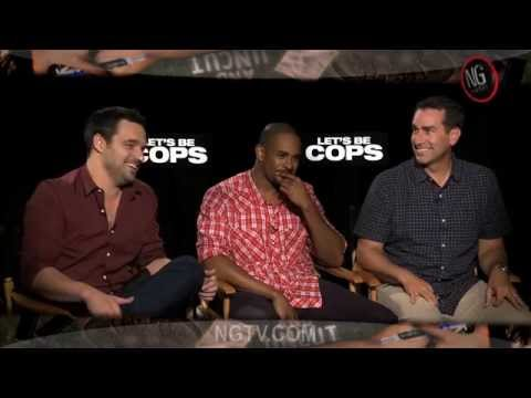 Jake Johnson, Damon Wayans, Jr. & Rob Riggle Uncensored on Let's Be Cops