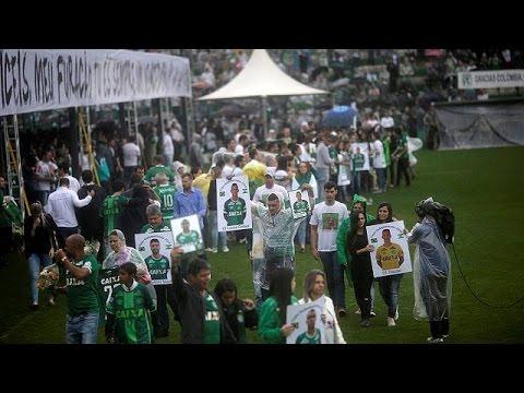 Βραζιλία: Τίμησαν τους αδικοχαμένους ποδοσφαιριστές της Σαπεκοένσε