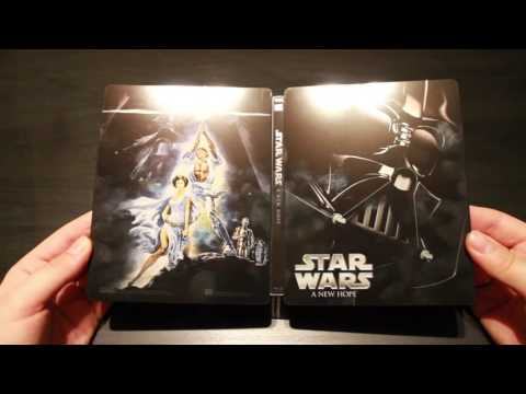 Star Wars Episode IV: A New Hope - Limited Edition Steelbook Blu-ray Unboxing
