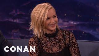 Video Jennifer Lawrence's Weird Chinese Nickname  - CONAN on TBS MP3, 3GP, MP4, WEBM, AVI, FLV Juni 2018