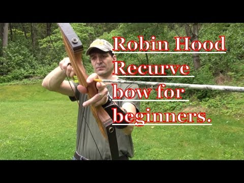 How to shoot a recurve bow for beginners
