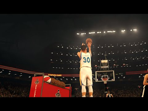 NBA 2K17 - EPIC 3 Point Contest feat. Steph Curry, Lillard, Kemba, Irving, Jr Smith, & More!! HD (видео)