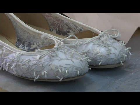 Hochzeits-Ballerinas für Meghan Markle: Passt der S ...