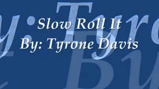 Mel waiters -  Slow Roll It full download video download mp3 download music download
