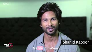 Shahid Kapoor invites you to check out the trailer of 'R...Rajkumar'