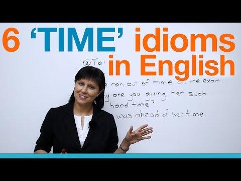 (videó) A 6 leggyakoribb angol TIME idióma és kifejezés - szókincs középfok