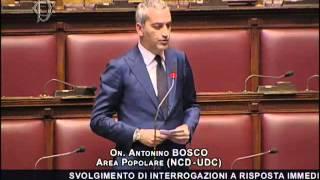 Replica - Banda Larga: Bosco, chiarezza da Governo su erogazione finanziamenti pubblici