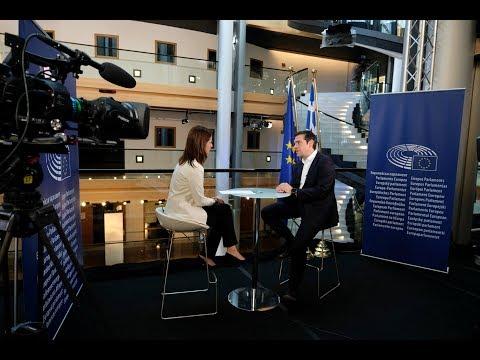 Συνέντευξη στο Euronews